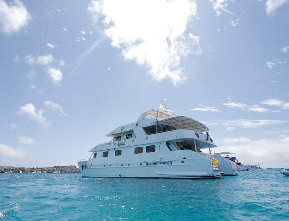 Cruise experience in Galapagos Islands